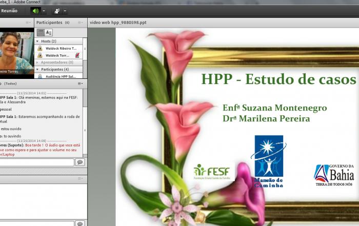 Enfermeiras obstetras da FESF-SUS participam de webpalestra especial