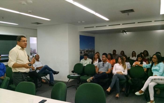 Discussão temática sobre Captação de Projetos gera debate entre trabalhadores da sede