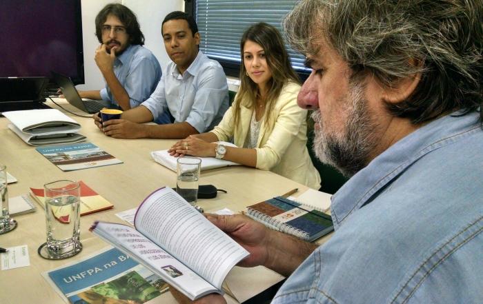 Fundação Estatal inicia negociação para parceria com órgão das Nações Unidas