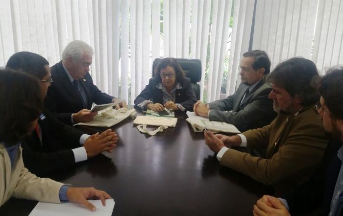 Diretoria da Fesf-SUS se reúne com a senadores baianos em Brasília
