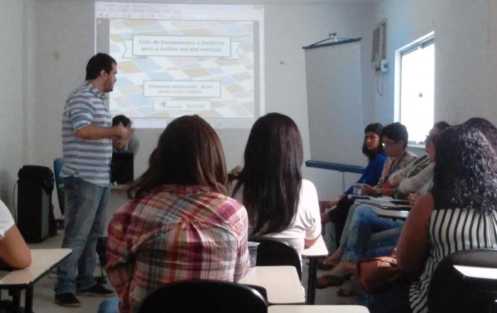 Equipes de Saúde da Família do Distrito do Subúrbio ferroviário participam de treinamento do Telessaúde