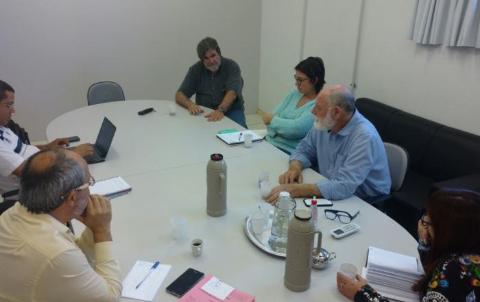 Diretores da ANFES e da FHGV discutem novas alternativas para as Fundações Estatais de Saúde