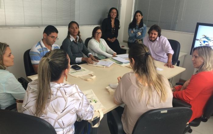 Humaniza FESF acolhe novos trabalhadores.