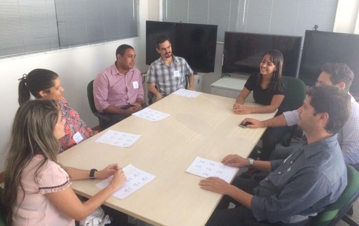 Equipe da sede recebe novos trabalhadores