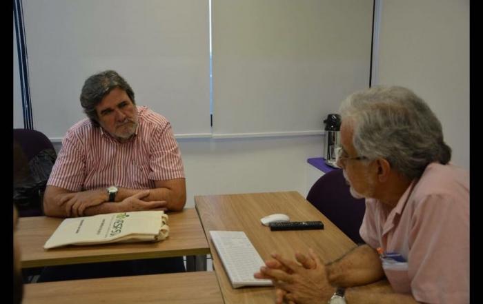 Carlos Trindade visita Centro de Integração de Dados e Conhecimentos para a Saúde (Cidacs) da Fiocruz