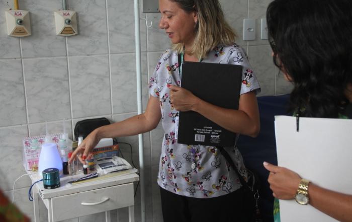 Gestão da FESF-SUS monitora serviço em Salinas da Margarida