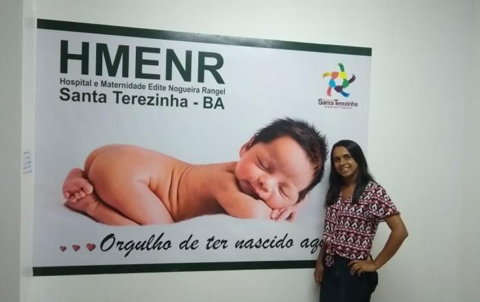 Enfermeira Obstetra FESF-SUS inicia  acolhimento de gestantes em Santa Terezinha