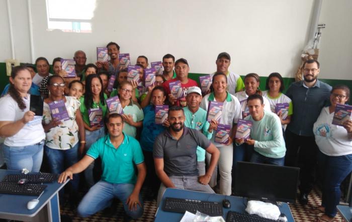 Serviço de Telessaúde e Apoio Institucional FESF-SUS realizam a qualificação dos Agentes Comunitários de Saúde de Santa Terezinha sobre o E- SUS/PEC Território