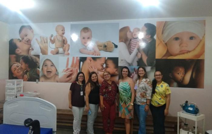 Município Elísio Medrado recebe enfermeira obstetra