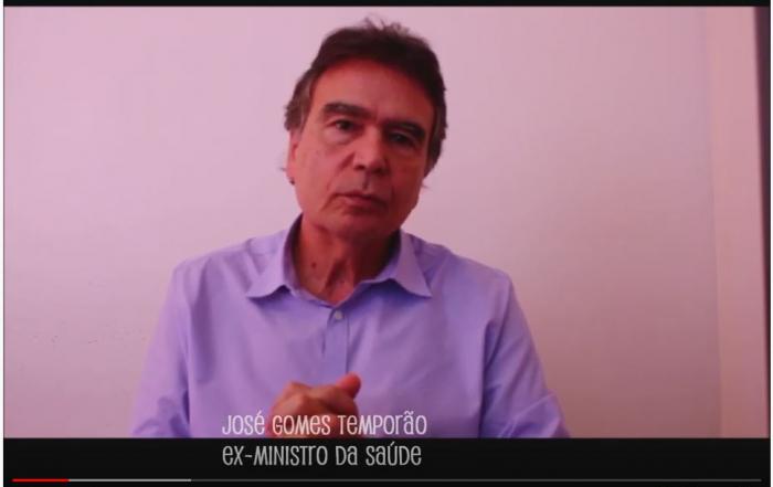 """TV FESF   Série Opinião traz o ex-ministro da saúde José Gomes Temporão: """"O SUS é o projeto desta e das futuras gerações"""""""